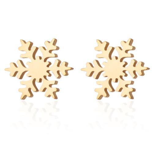 Frozen Snowflake Stud Earrings - Disney Voguette
