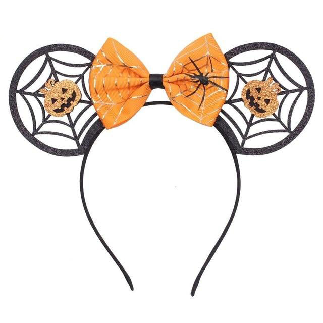 Spider Web Festival Halloween headband Mouse ears - Disney Voguette