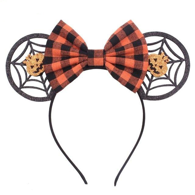 Spider Web Festival Halloween Headband Minnie Mouse Ears - Disney Voguette
