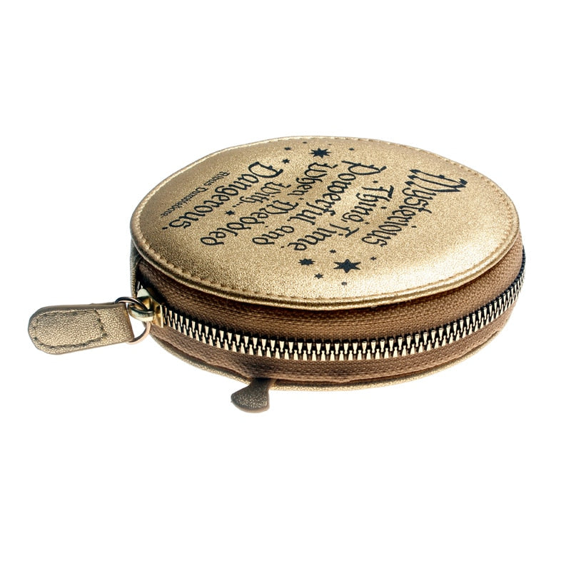 wallet Gold Time-Turner Hogwarts Coin purse - Disney Voguette