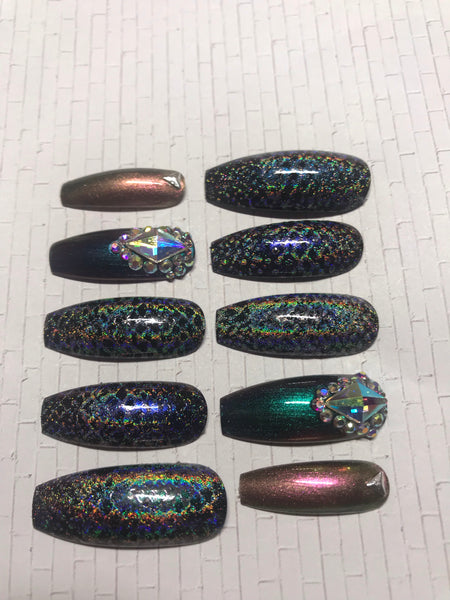 Holographic Snakeskin