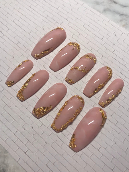 Rose Quartz Gold