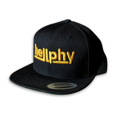 """Goldy"" 3D Embroidered Snapback"