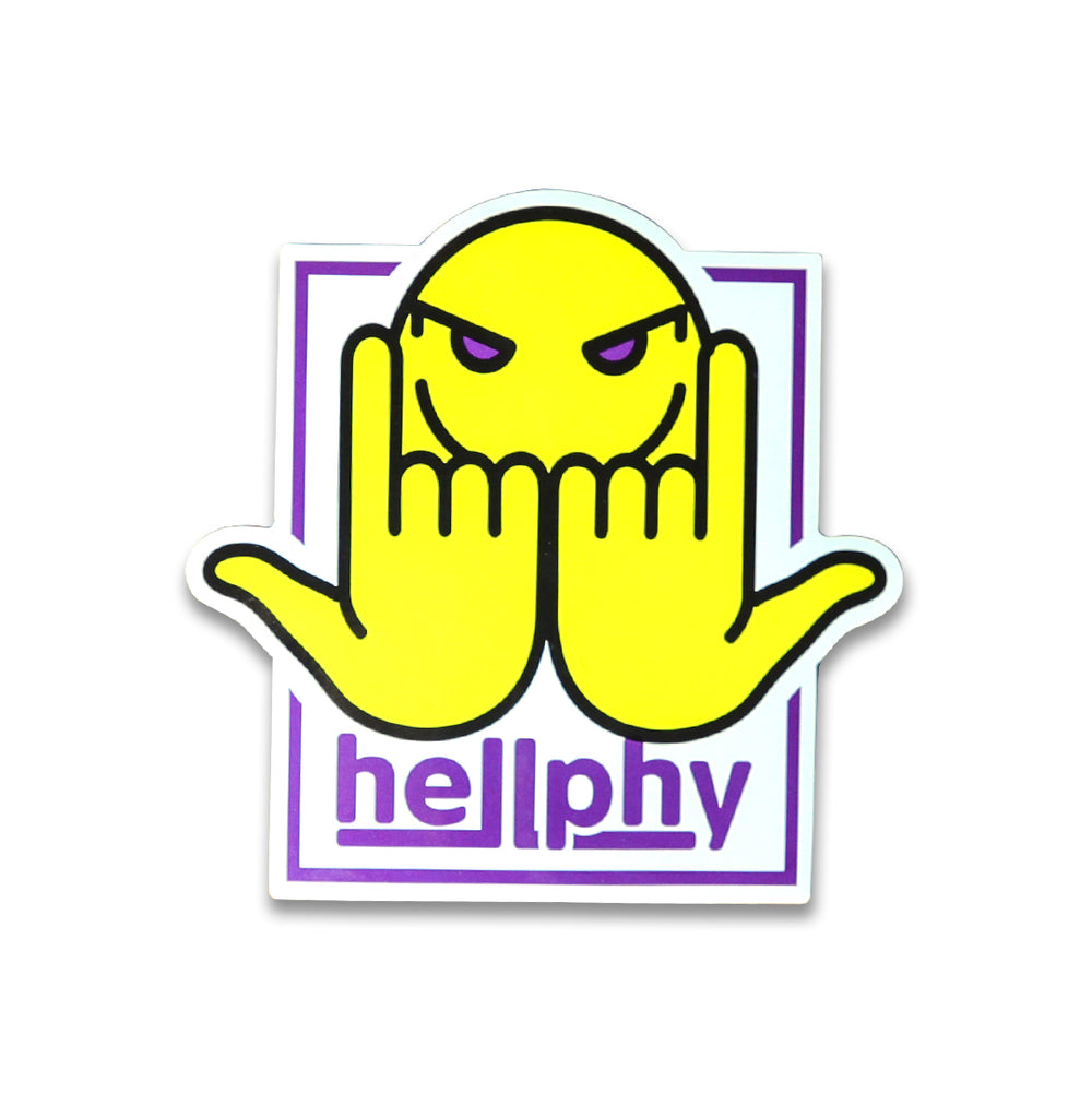Hellphy 3pc Sticker Pack