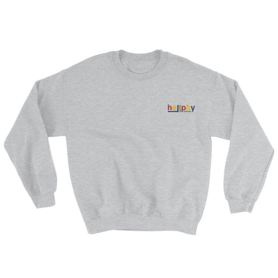 """Harlequin"" Embroidered Pullover"