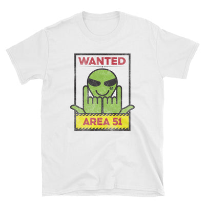 """Wanted at 51"" Limited Tee"