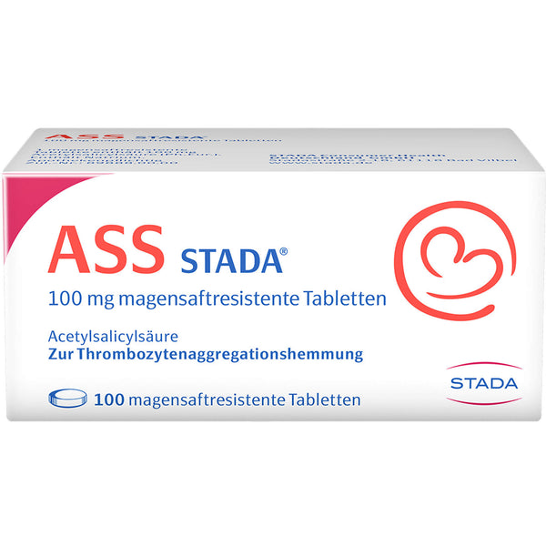ASS Stada 100 mg Tabletten, 100 St. Tabletten