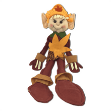 "10"" Plush Fall Elf Standing - Two Styles"