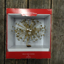 "10"" Wondershop Unlit Christmas Tree Topper Star With Easy Clip"