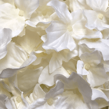 "11"" White Hydrangea Ball White"