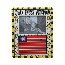 "11"" x 9"" God Bless America Picture Frame"
