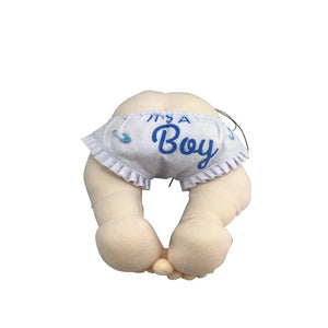 "12"" Plush Baby Bottom Light Skin Tone - 2 Styles"