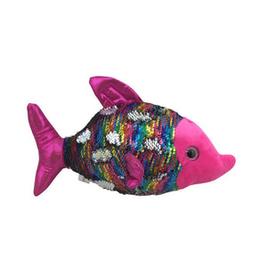 12.5 Inch Plush Sequin Fish Felish