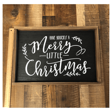 "14"" Wooden Christmas Sign"