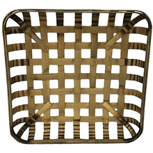 15 Inch Stained Square Tobacco Basket - 2 Styles
