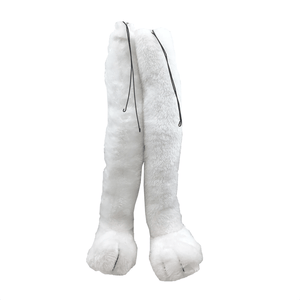 "15"" Plush Easter Bunny Legs (Set of 2)"