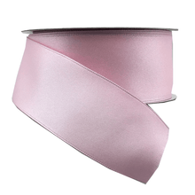 "1.5"" x 10 YDS Light Pink Double Faced Satin Ribbon"