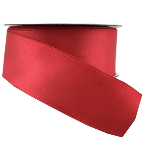 "1.5"" x 10 YDS Watermelon Double Faced Satin Ribbon"