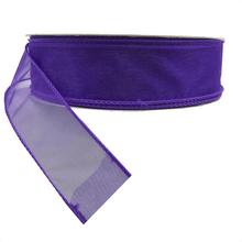"1.5"" x 25 YDS Sheer Lavender Ribbon"