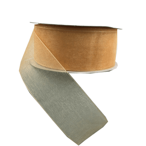 "1.5"" x 25 YDS Sheer Melon Ribbon"