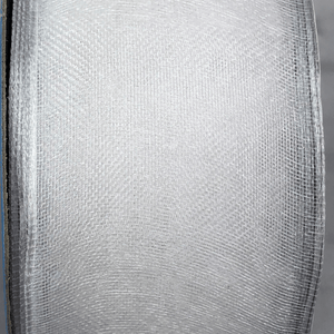 "1.5"" x 25 YDS Sheer White Encore Ribbon"