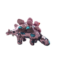 16.5 Inches Sequin Plush Dino 3 Asst.