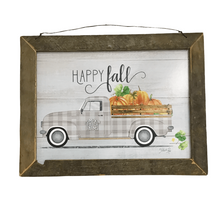 "17.25"" Happy Fall Wall Art"