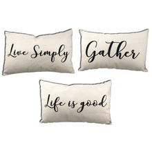 "20"" Decorative Home Decor Pillow - 3 Styles"