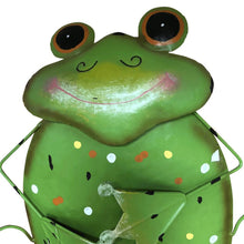 "20"" Metal Frog Wall Decor"