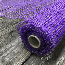 "20"" x 10 YDS Designer Netting - Basket Weave Purple"