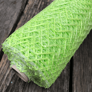 "20"" x 10 YDS Designer Netting - Chevron Lime"