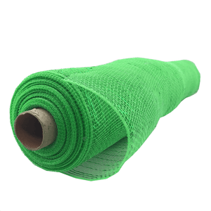 "20"" x 10 YDS Designer Netting - Kelly Green With Green Glamour"