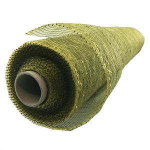 "20"" x 10 YDS Designer Netting -Moss Glaze with Gold Glamour"