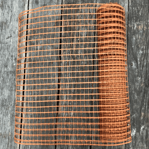 "20"" x 10 YDS Designer Netting - Saxon Chocolate"