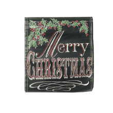 "20.25"" Merry Christmas Holly Vinyl Banner"