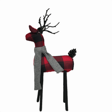 "21"" Foam Fabric Deer - 2 Styles"