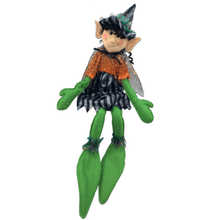 "21"" Plush Spider Web Elf Witch"