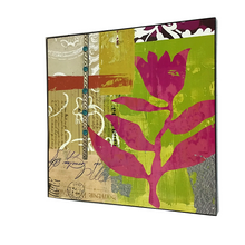 "22.5"" x 22.5"" Urban Prairie Flower Wall Art - Two Styles"