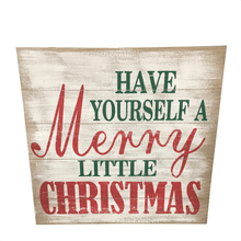"24"" Merry Christmas Plaque"