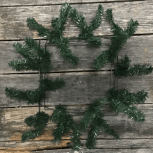 "24"" Square Work Wreath - 36 Tips - Evergreen"
