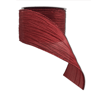 "2.5"" x 10 YDS Nylon Flow Ribbon - Red"