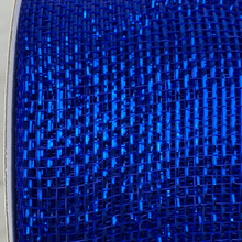 "3"" x 20 YDS Designer Netting - Royal Blue Glamour"