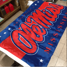 3' x 5' Ole Miss Flag