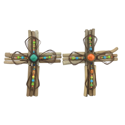Wall Cross 12 Inches Wide 15 Inches Tall 2 Styles