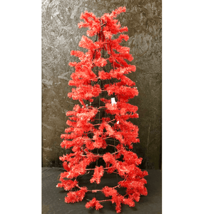 "34"" Cone Work Tree - Red"