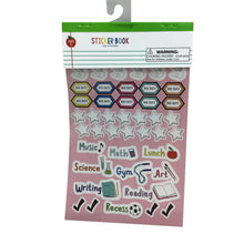 256 Teacher Planner Sticker Book