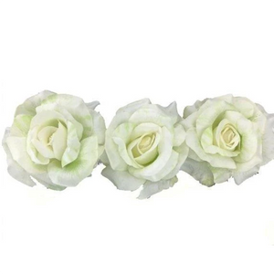 "4"" Floating Rose Bloom (Box of 3)"