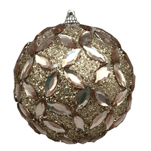 "4"" Jewel Ball - Coffee or Champagne"