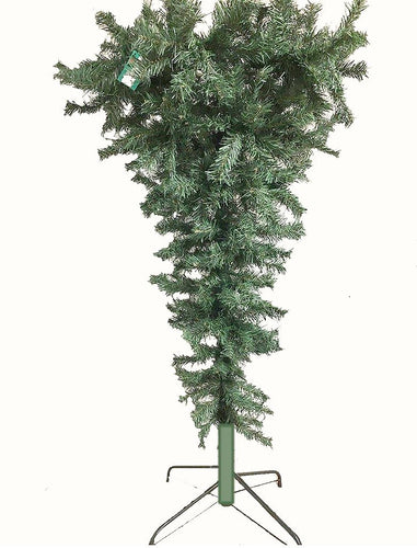 4' Umbrella Upside Down Dark Green Tree PVC