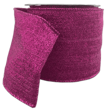 "4"" x 10 YDS Fuchsia Abigail Flow Ribbon"